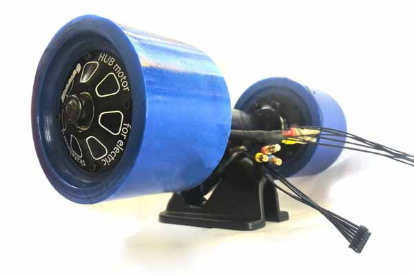 DIY electric skateboard hub motor drive
