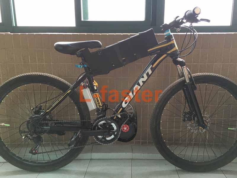 450W Brushless Motor Belt Kit E-bike