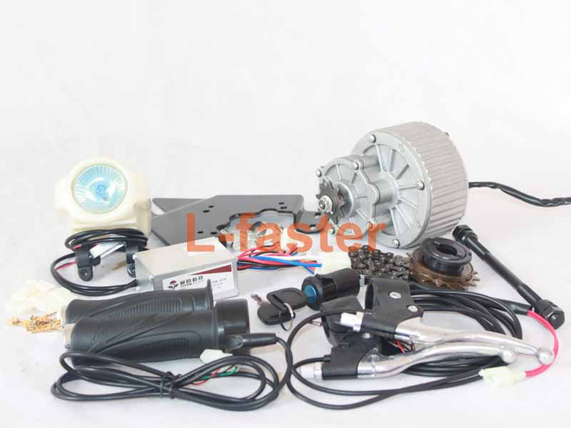 450w Electric Bike Side Drive Motor Kit L