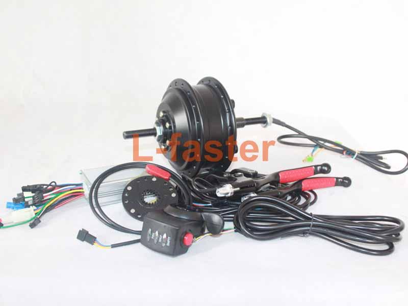 250W Electric Bike Rear Motor Wheel Kit (for 135mm fork) | L
