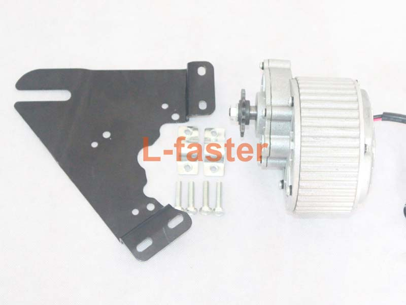 Upgrade 450w Electric Bicycle Side Drive Motor Kit L