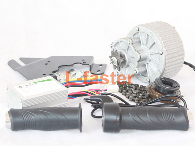 450w Electric Bicycle Side Drive Simple Motor Kit L