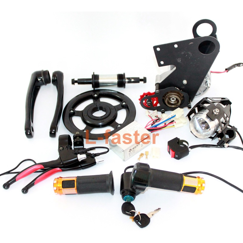 250W Electric bike mid-drive motor kit -1