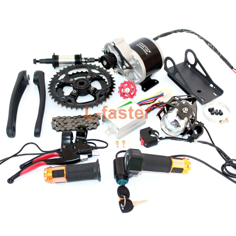 350W 450W electric bike mid-drive motor kit -1