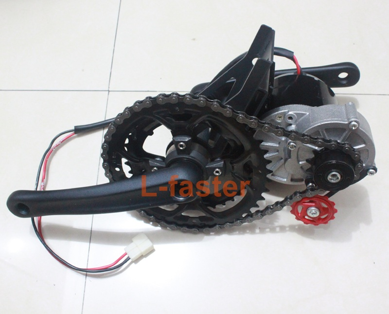 350w E Bike Mid Drive Motor Kit L Faster Com