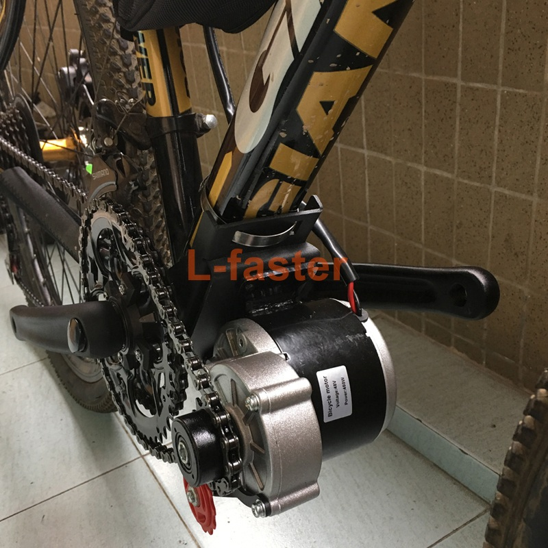 350w e bike mid drive motor kit l