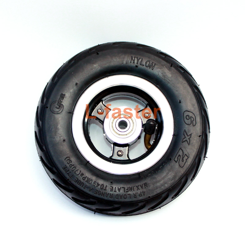 6x2 pneumatic wheel -9-aa