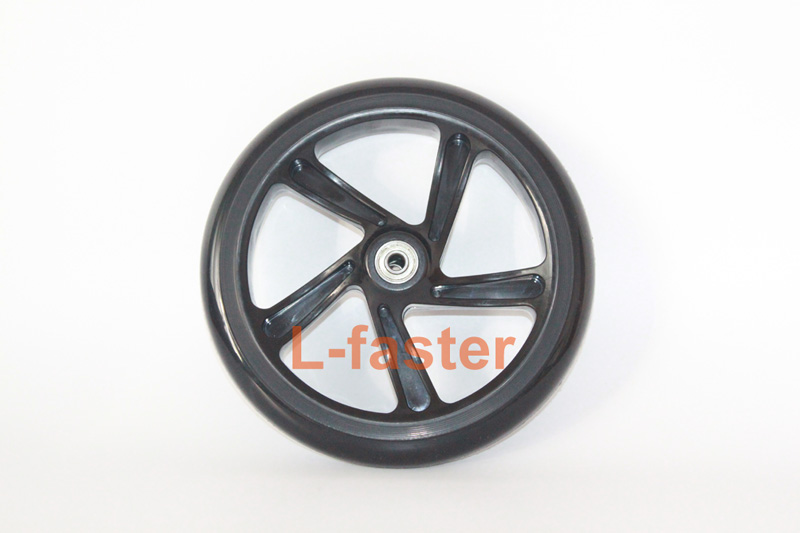 8 inch Oxelo scooter PU wheel -1-a