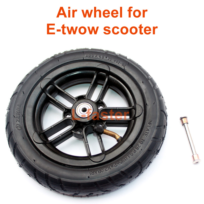 E-twow scooter pneumatic wheel -2-800-1