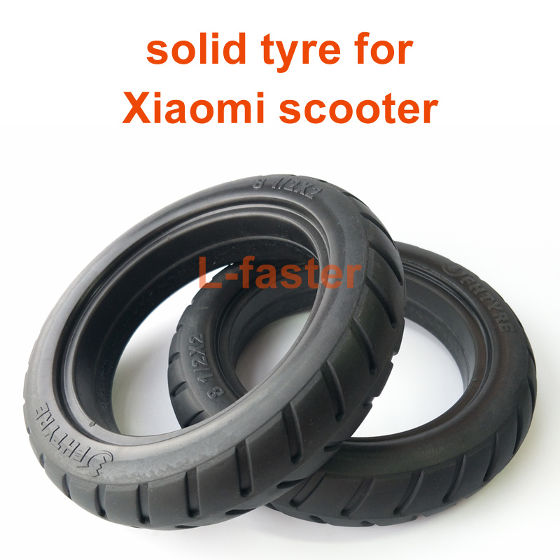 Xiaomi Electric Scooter Mijia M365 Solid Tire | L-faster com