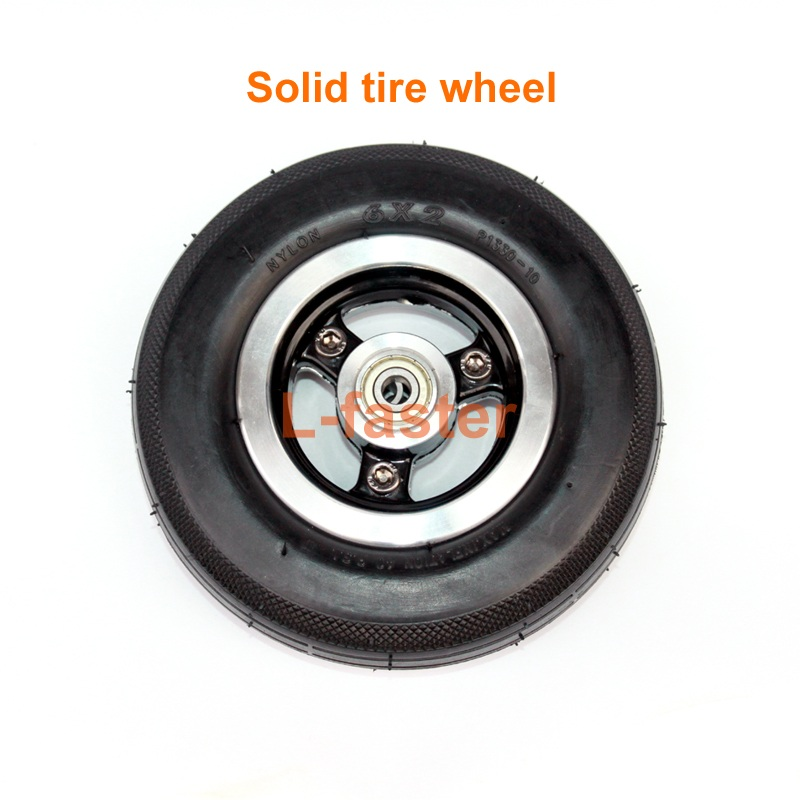 6x2 solid tire wheel -1-800