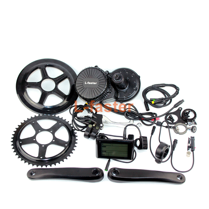 48V 750W e-bike mid-drive conversion kit -1-800-1